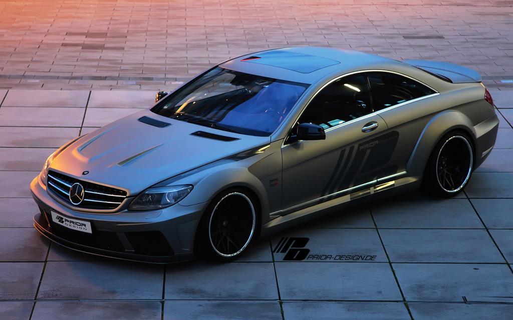 Sport Edition A9 Wheels >> MERCEDES CL W216 FL WIDBODY BODY KIT CL63 CL550 CL600 CL65 AMG SPOILER DIFFUSER | eBay