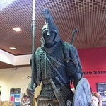 The Staffordshire Saxon  unveiling