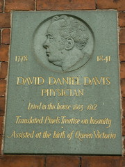 Photo of David Daniel Davis stone plaque