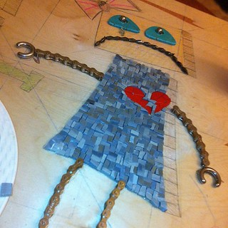 #robot #mosaic #progress