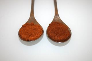 10 - Zutat Paprikapulver / Ingredient paprika