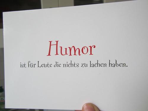 German Humour