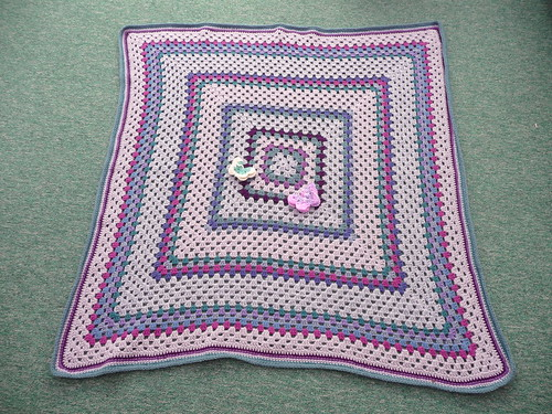 Thank you Sara, a beautiful Granny Square Blanket. Super colours!