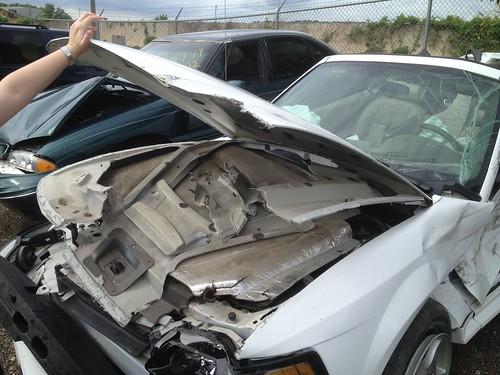 Bent Car Hood Repair Cost