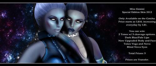 cStar Limited - Miss Gemini Skins 2012