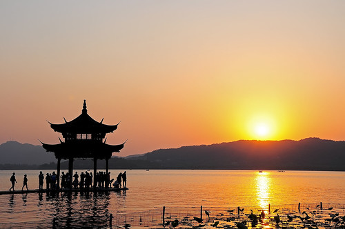 china sunset lake west pôrdosol westlake hangzhou 中国 西湖 日落 杭州 zhejiang hú zhōngguó 浙江省 hángzhōu xī 杭州市 xīhú zhèjiāng