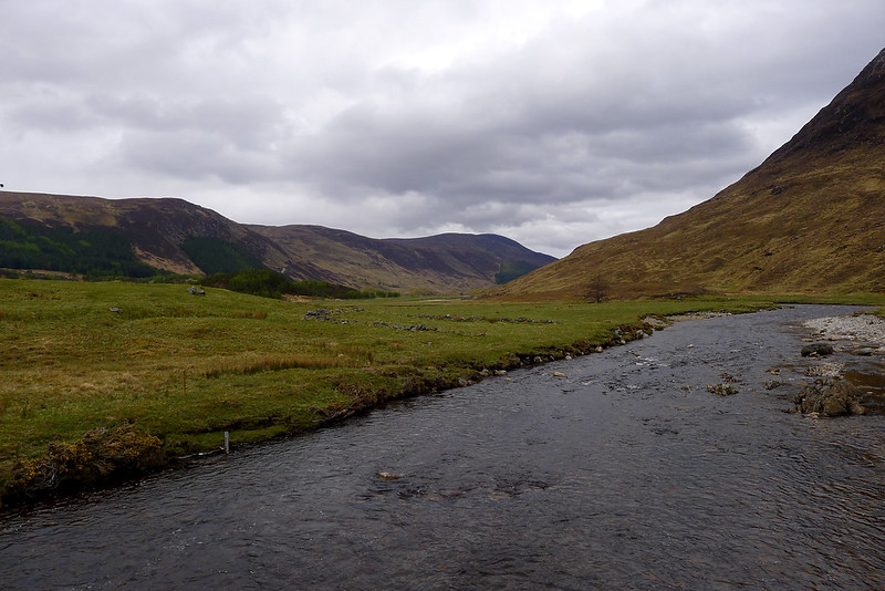 The River Meig in Strathconon