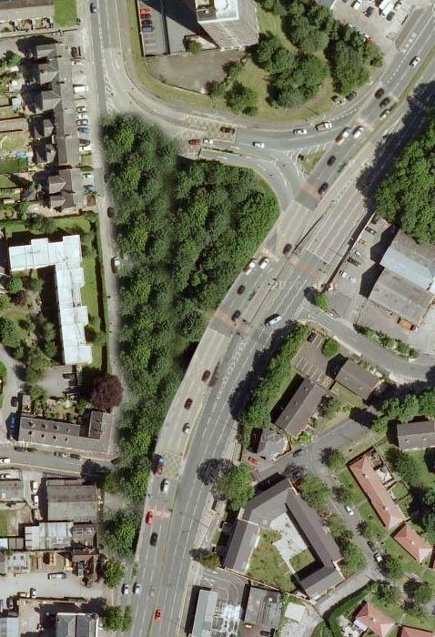 Barton Road gyratory suggestion (Trafford)