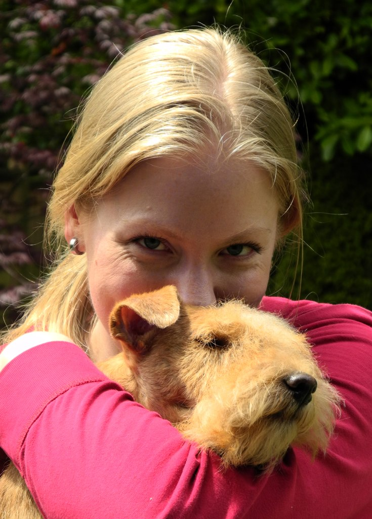 Jaz & mom closeup