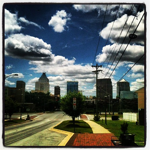 Downtown Greensboro by Greensboro NC