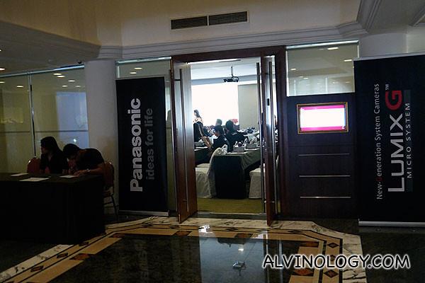 Workshop venue sponsored by Albert Court Village Hotel
