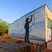 Roping, Pecos TX by Allan Sombero