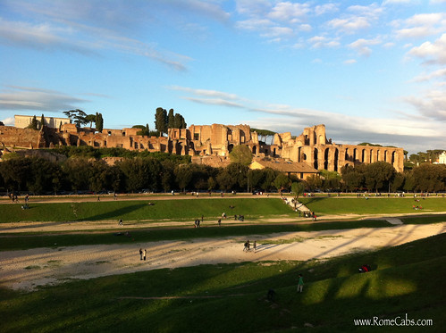 Circus Maximus (Rome) on Seven Wonders of Ancient Rome with RomeCabs