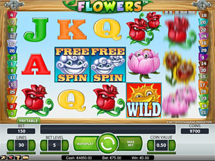 Flowers slot game online review