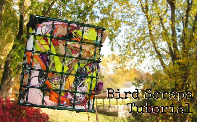 Bird Scraps Tutorial