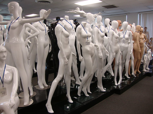 Roxy dressform showroom