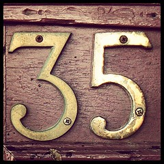 wood, number, house numbering, font,
