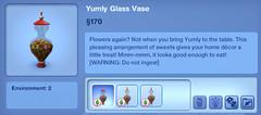 Yumly Glass Vase