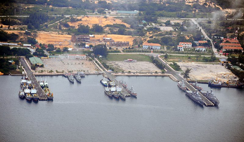 Resultado de imagen de base militar de Cam Ranh,
