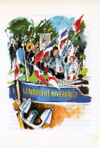 Quatre Contes prestigieux -La Belle-Nivernaise , by Alphonse DAUDET -image-50-150