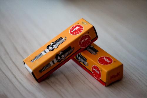157/366 - NGK Sparkplugs