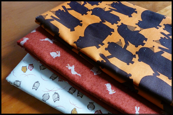Exciting new fabric from Saints and Pinners