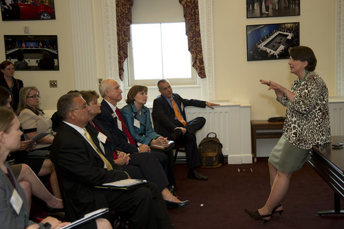 Deputy Agriculture Secretary Kathleen Merrigan speaks to the White House Forum on Regional Innovation in Rural America at the White House, Eisenhower Executive Office Building in Washington, D.C., on Wednesday, June 13, 2012. USDA photo by Anson Eaglin.