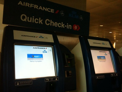 "Air France ""Quick"" Check-In"
