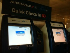 """Air France """"Quick"""" Check-In"""