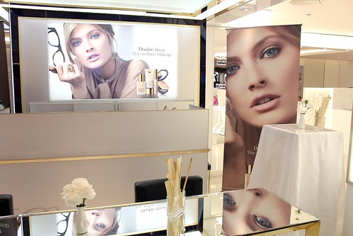 Esteee Lauder Rustan's Beauty Counter Shangri-la Mall
