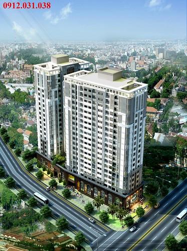 Căn hộ Âu Cơ Tower trung tâm quận Tân Bình, Tân Phú chỉ 1, 1 tỉ/ căn