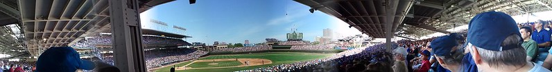 Wrigley Field, Cubs vs Red Sox