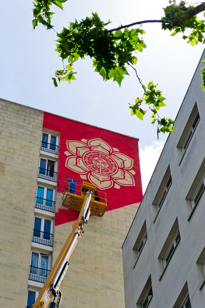 Shepard Fairey @ Paris