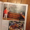 Great feature on public parklets in @momentummag! And look! That's my daughter in parklet made by @iastate Design students!