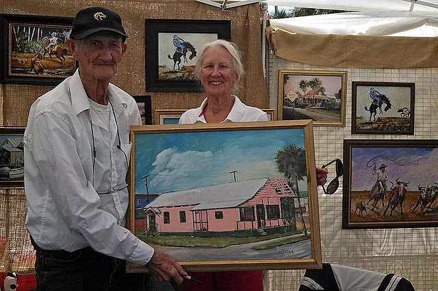 Bill Roberts Re-signed a Painting Bought Years Ago For the Fan/Buyer