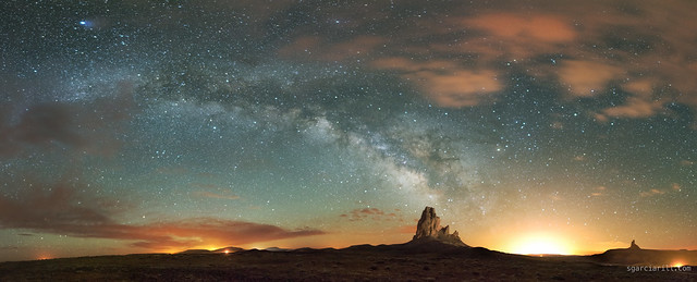 Agathla Peak panorama