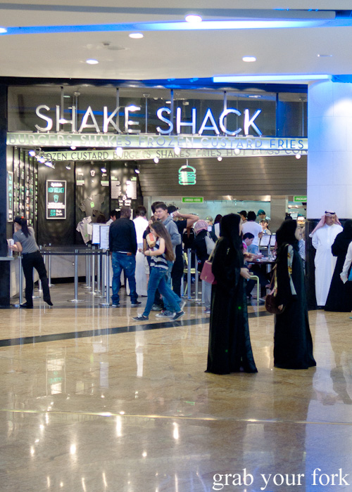 Shake Shack at Mall of the Emirates in Dubai