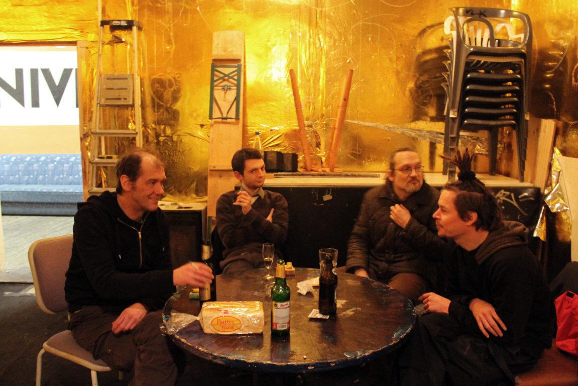 берлинцы пьют пиво