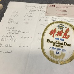 Styles and international beer files - pretty typical Eckhardt note keeping.