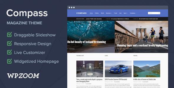 Compass v1.1.2 - Magazine Theme for WordPress