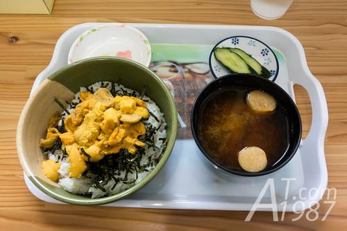 Nama Unidon (Fresh Sea Urchin Rice Bowl)