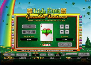 Irish Eyes Gamble Feature