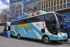 Autobus carregadet (no era el nostre però ens anava al darrere)