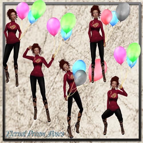 *ED* Balloons (pack)