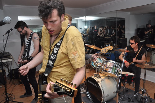 The Clash, or something like it, at the Montgomery Legion