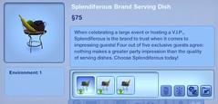 Splendiferous Brand Serving Dish