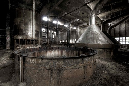 kettles inside the Soap Factory by marco_an78