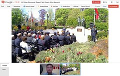 Ceremony of Remembrance at Queen's Park Ontario Police Memorial, Sun May 6th - pix 03 (Ontario Premier Dalton McGuinty)