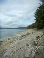 Jocassee shoreline