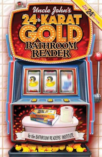 Uncle John's 24 Karat Gold Bathroom Reader